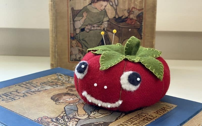 Tommy the Tomato Pincushion Sewing Project